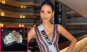 Cận cảnh chiếc vương miện đính đá quý lấp lánh của Miss Universe 2019