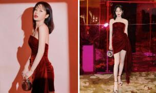 Bất chấp tiết trời giá lạnh, 'Phú Sát Hoàng hậu' Tần Lam vẫn gợi cảm hết nấc