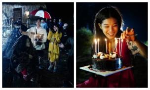 Hoàng Yến Chibi khóc như đứa trẻ khi được tổ chức sinh nhật bất ngờ