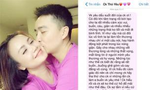 'Diễn viên 4 đời chồng' Đào Hoàng Yến khoe tin nhắn cực mùi mẫn của ông xã trẻ lúc nửa đêm