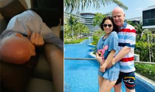 Thu Minh tiết lộ chồng bị 'nghiện vợ', đi làm về mệt là ôm chân vợ ngủ ngon lành