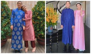 Vợ chồng Hà Tăng lại xúng xính áo dài du xuân, hơn 1 thập kỷ gắn kết, chưa bao giờ quên nắm chặt tay đi khắp thế gian