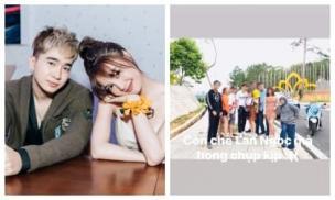Né hết cỡ chụp ảnh chung, Ninh Dương Lan Ngọc và Chi Dân vẫn lộ chuyện du lịch Đà Lạt cùng nhau