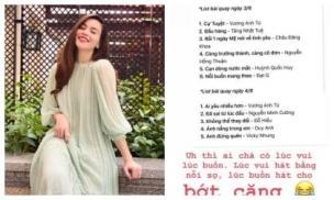 Bị chê lười, Hà Hồ tung ngay lịch quay cho dự án album 'khủng' dù đang bầu bí
