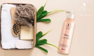 Sữa tắm men bia Mini Garden Whitening Body Wash - Bí quyết chăm sóc da của giới showbiz