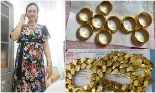 Bị chê đeo đồ giả, cô Minh Hiếu đi mua vàng 2 ngày liên tiếp để dằn mặt anti-fan