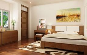Thiết kế phòng ngủ theo phong thủy, vợ chồng hạnh phúc viên mãn