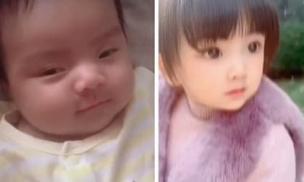 Sinh ra đã bị họ hàng kém duyên chê bai diện mạo, 4 năm sau bé gái 'lột xác' đến cả bố mẹ cũng ngỡ ngàng