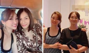 Bạn gái Chi Bảo thân thiết bên mẹ chồng tương lai và vợ cũ của nam diễn viên