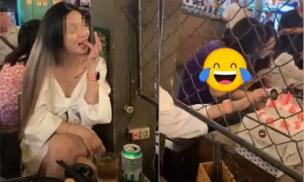Cô gái bị chỉ trích vô duyên vì dùng tay 'ăn lén' bánh sinh nhật của người lạ
