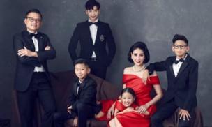 Bộ ảnh quyền lực của gia đình Hoa hậu Hà Kiều Anh nhân dịp kỉ niệm 13 năm ngày cưới