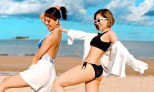 Hot girl Trâm Anh đăng ảnh bikini 'bá đạo' tiết lộ do mẹ chụp, bụng mỡ bị soi nay cũng đã biến mất