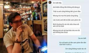 Rủ ăn tối không được, chàng trai hẹn gặp cô gái lúc 12h đêm để bắt trả 35 nghìn tiền sữa chua