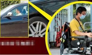 'Thị đế' được trả lương cao nhất TVB gây chú ý với hành động dành cho fan tàn tật, phải ngồi xe lăn