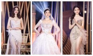 Minh Nhựa mạnh tay chi hơn 400 triệu đấu giá váy cưới của Lương Thuỳ Linh ủng hộ Đà Nẵng