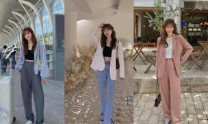 Phong cách Hàn Quốc ngọt ngào đầu thu phù hợp với các bạn trẻ! 14 set đồ này mặc vừa thanh lịch, vừa đẹp