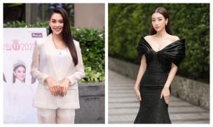 Tiểu Vy diện vest xuất hiện đầy thần thái, Hoa hậu Đỗ Mỹ Linh thanh lịch tại Sơ khảo phía Nam - Hoa hậu Việt Nam 2020