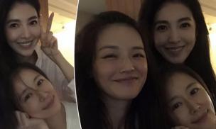 3 mỹ nhân Thư Kỳ, Lâm Lâm Như và Hứa Vỹ Ninh để mặt mộc đứng chung một khung hình, nhan sắc đời thường gây sốt MXH