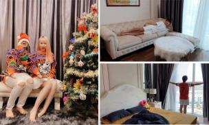 Sau biệt thự như lâu đài, Cris Phan hé lộ không gian sống trong căn hộ của hai vợ chồng