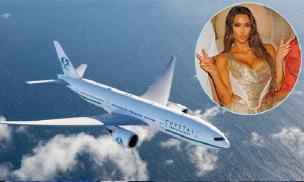 Kim Kardashian thuê máy bay Boeing 88 chỗ đi chơi sinh nhật