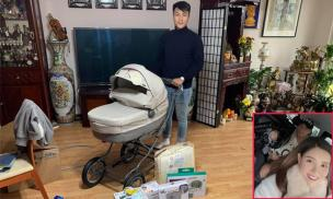 Đăng ảnh chuẩn bị đồ cho con sắp chào đời, Mạc Hồng Quân vô tình hé lộ không gian sống tại Séc