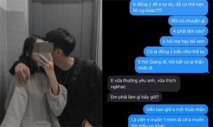 Thích một anh đã ly hôn vợ, cô gái nhắn tin với người yêu xin tìm hiểu người kia: 'Nếu không hợp thì em quay lại với anh'
