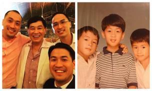 Cậu em chồng kín tiếng nhất của Tăng Thanh Hà 'gây sốt' vì quá điển trai