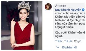 Hoa hậu Đỗ Thị Hà bị chê bai nhan sắc tả tơi, Duy Khánh lên tiếng giải thích