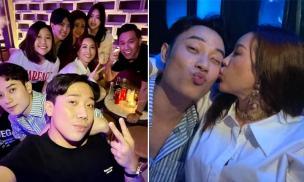 Trúc Nhân được Hoa hậu 'hôn má' trong tiệc sinh nhật, hội bạn đình đám toàn sao cũng 'xôm tụ' đông đủ