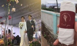 Khách dự 'đám cưới xuyên Việt' của Công Phượng - Viên Minh: Người háo hức khi được tặng vàng, người thích mê với quà túi vải