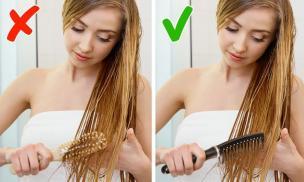 6 sai lầm khi chải đầu có thể khiến mái tóc của bạn xơ rối, hư tổn nặng nề