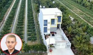 Nhà mới của Hoài Lâm tại Vĩnh Long, cách nhà vợ Vân Quang Long 400 mét