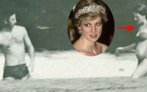 Ít ai biết rằng, 38 năm trước, Diana từng mặc bikini và chơi đùa với Charles dưới nước ngọt ngào hiếm hoi như thế này