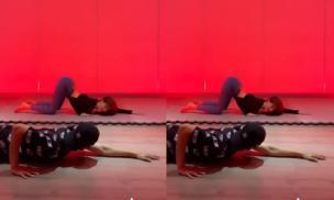 Ngọc Trinh học vũ đạo cùng Lâm Vinh Hải, dân tình chỉ tập trung vào body của người đẹp