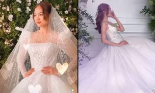Ninh Dương Lan Ngọc tung clip làm cô dâu đẹp tựa 'nàng thơ', netizen xuýt xoa khen ngợi
