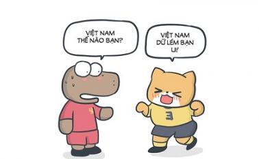 CĐV tiếp 'lửa' tuyển Việt Nam đòi món nợ 3 năm trước với Indonesia bằng loạt ảnh chế hài hước