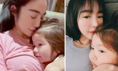 Elly Trần chia sẻ chuyện né hôn các con khi còn bé