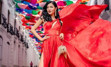Liên tục thể hiện thần thái chuẩn 'beauty queen', Kiều Loan xuất sắc lọt top 21 trình diễn fashion show
