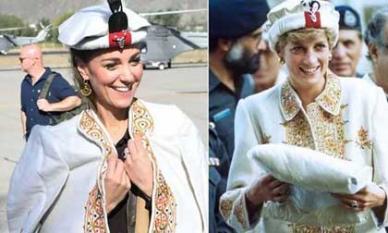 Công nương Kate Middleton gợi nhớ mẹ chồng quá cố Diana 30 năm trước, được dân mạng khen hết lời