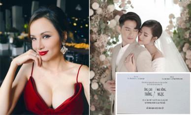 Sao Việt 19/10/2019: Diễm Hương thừa nhận là trụ cột kinh tế của gia đình; Phát hiện chi tiết thú vị trong thiệp cưới của Đông Nhi