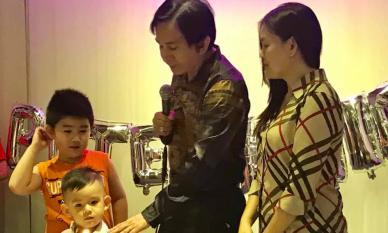 'Ông hoàng cải lương' Kim Tử Long tổ chức sinh nhật cho quý tử thứ hai, kháu khỉnh và điển trai hơn cả cậu cả