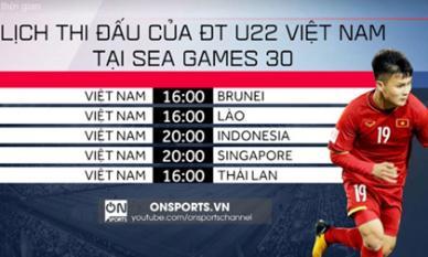Lịch thi đấu môn bóng đá nam SEA Games: Trời giúp ông Park