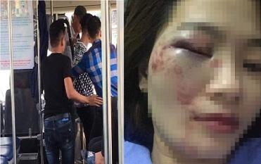 Nhắc nhở nhóm thanh niên nói tục trên xe buýt, nữ nhân viên bị hành hung đúng ngày 20/10