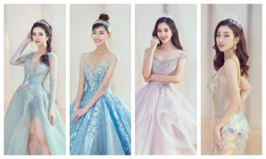 Dàn bông hậu hoá công chúa Disney cùng dàn sao khủng tham dự sinh nhật ái nữ bà trùm Hoa hậu