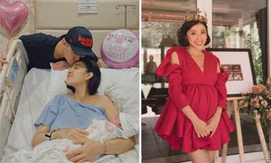 MC Yumi Dương sinh con gái đầu lòng cho chồng Việt Kiều