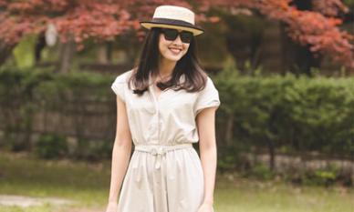 Hoa hậu Dương Mỹ Linh khoe nụ cười như toả nắng giữa trời thu Nhật Bản mộng mơ