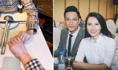 MC Minh Hà đeo nhẫn đôi sau khi dính tin đồn chia tay diễn viên Chí Nhân