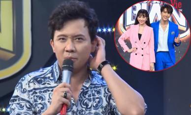 Phản ứng bất ngờ của Trấn Thành khi thấy Hari Won quất quýt bên trai đẹp