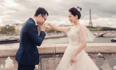 Trọn bộ ảnh cưới đẹp của biên tập viên VTV Thu Hà trước khi lên xe hoa