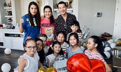 Trương Ngọc Ánh và Trần Bảo Sơn cùng mừng sinh nhật con gái cưng